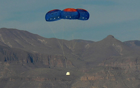 NASA Commercial Crew Partner Blue Origin Completes Pad Escape Test | SpaceRef | The NewSpace Daily | Scoop.it