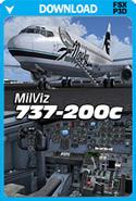 MilViz 737-200c (FSX+P3Dv1)   PC Aviator Flight Simulation News   Scoop.it