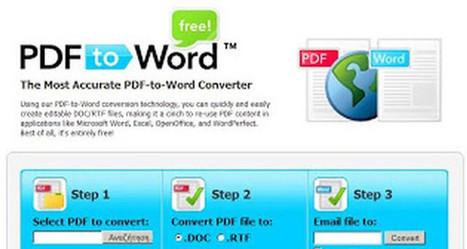 Δωρεάν online μετατροπή του PDF σε Word - Candia News | Crete | Εργαλεία για το διαδίκτυο & το σχολείο     Internet tools - School tools | Scoop.it