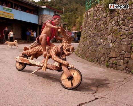 Only in the Philippines: Riding on Wooden Scooters at 50 Kilometers Per Hour | Strange days indeed... | Scoop.it