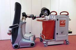 Vidéo : un robot pour nettoyer demain nos bureaux - 01net | Une nouvelle civilisation de Robots | Scoop.it