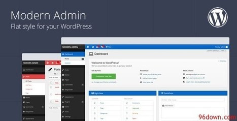 Codecanyon Modern Admin v1.9 Flat style for your WordPress [P] | Download Free Full Scripts | Retina Press Wordpress | Scoop.it