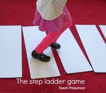 The step ladder game | Teach Preschool | Scoop.it