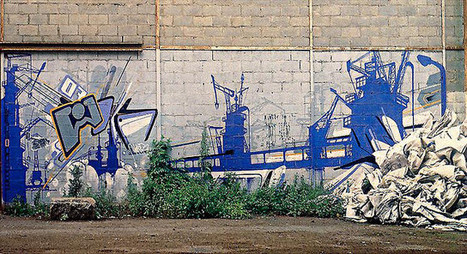 Friches Industrielles et Street Art | Street Art Nancy | Scoop.it