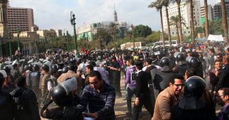 Egypt protesters sing the same revolutionary tunes | Égypt-actus | Scoop.it
