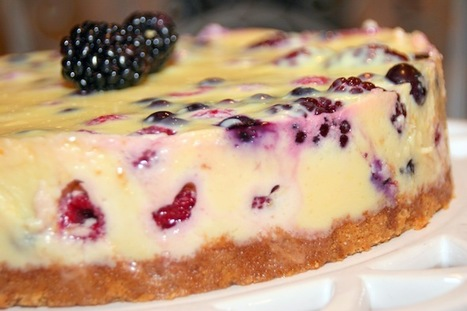 Berry Custard Cake | Delicious Desserts and Dessert Recipes | Scoop.it