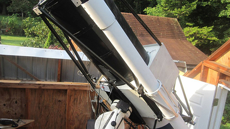 Man builds $20,000 space observatory in backyard | Geek.com | Astronomy Domain | Scoop.it