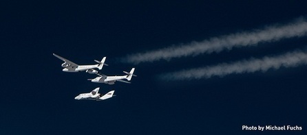 Excitement Building in Mojave for First SpaceShipTwo Powered Flight | Parabolic Arc | The NewSpace Daily | Scoop.it