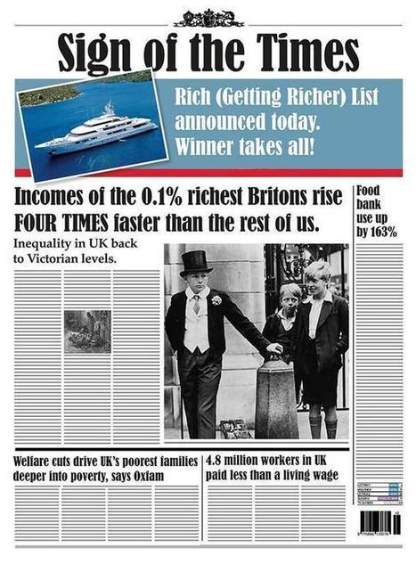 The rich get richer | Health-Fitness-U | Scoop.it