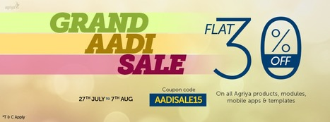 Agriya celebrates Aadi by furnishing flat 30% discount | Group Buying Script | Scoop.it