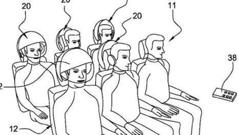 The future of flying could include Google Glass-type headrests | On The Road Again | Scoop.it