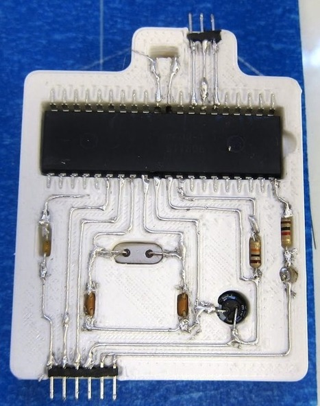3D Printed Circuitry Moves Forward, Slowly But Surely | 3D Printing and Fabbing | Scoop.it