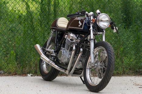 E3 Honda CB750 Cafe Racer | Latest Updates | Scoop.it