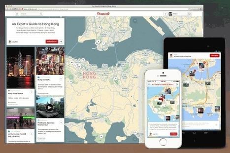Pinterest presenta herramienta para marcar en un mapa lugares de interés | Mi caja de herramientas by Lisandro Cilento | Scoop.it