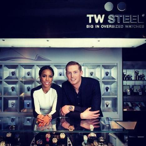 See who's visiting our Harbour City shop today? Global brand ambassador Kelly R... | TW Steel Watches | Scoop.it