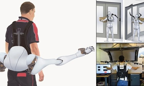 MIT robotics experts create pair of shoulder-mounted arms to give us six limbs - Daily Mail | Robots and Robotics | Scoop.it