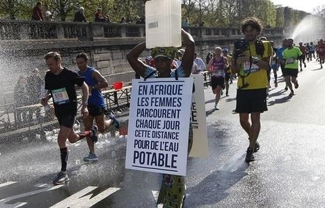 Faire le marathon de Paris avec un bidon sur la tête pour défendre l'accès à l'eau   Efficycle   Scoop.it