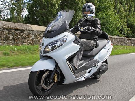 Sym Maxsym 400 i 2011 | Des yeux sur le deux-roues | Scoop.it