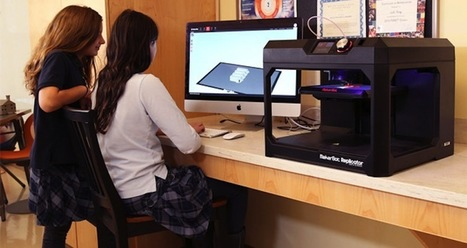 Samsung y Makerbot donarán impresoras 3D a centros educativos en España | Impresión 3D | Scoop.it
