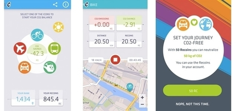 New Mobile App Encourages Fitness, Rewards You for Reducing Your CO2 Emissions | Sustainable Brands | Sustainable Entertainment - #OneYoungWorld - #HavasSE | Scoop.it