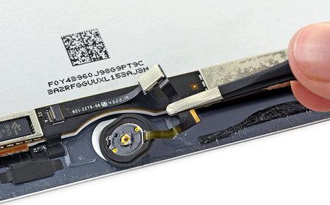 iFixit desmonta iPad Air 2 e descobre nele um NFC que não funciona | Apple iOS News | Scoop.it