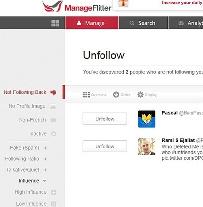 Twitter : Comment savoir qui ne vous suit plus ? (unfollow) | Time to Learn | Scoop.it
