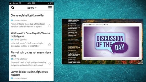 NewsBar Is a Minimal RSS Reader with iCloud Sync   Technologie Au Quotidien   Scoop.it