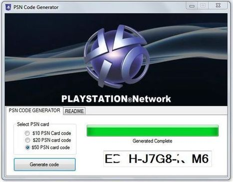 Free PSN Codes - PSN Code Generator Tool Download | android ios and facebook game cheats | Scoop.it