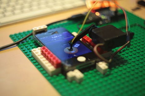 Clicker cheater for iPhone Arduino from the Cucumber Clicker maker | MakerTech, Makerspaces and DIY | Scoop.it