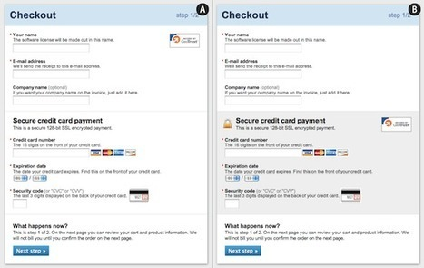 Fundamental Guidelines Of E-Commerce Checkout Design | Smashing UX Design | Ergonomie - UX - by Th. | Scoop.it