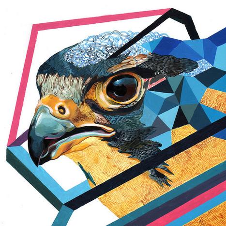 Juan Travieso's Design-Oriented, Colorful Paintings   Culture and Fun - Art   Scoop.it