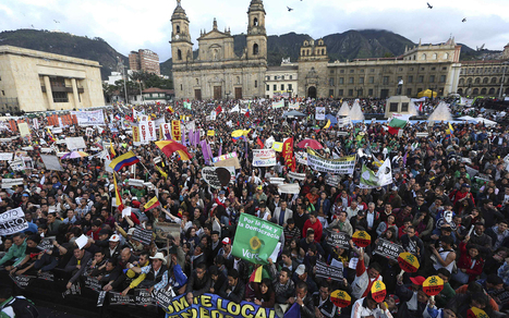Colombians Take to the Streets to Support Ousted Leftist Mayor | Pre-AP World Geography | Scoop.it