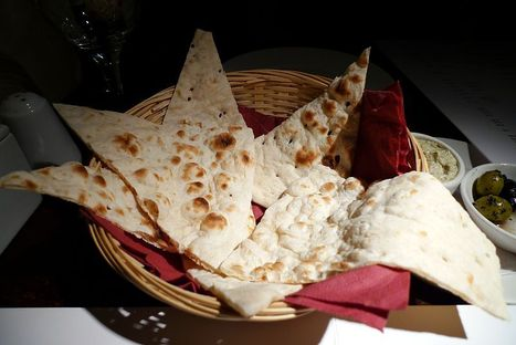 Homemade Flat Bread | Eat Simply Now-Recipes for Lactose and Gluten Intolerant People. | Scoop.it