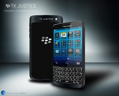 The TK Justice Blackberry 10 Concept.. we can get with that | Mobile IT | Scoop.it