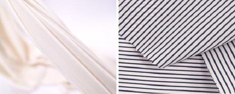 Non cotton stretch denim shown at Intertextile Shanghai - Innovation in Textiles | fibre de bamboo | Scoop.it