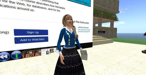 Virtual Center for Archives and Records Administration on SLIS Island, Second Life | VCARA - Virtual Worlds | Scoop.it