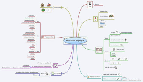 Mind mapping en EPS :présenter son cours sous forme de carte | Revolution in Education | Scoop.it