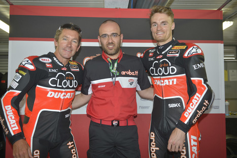 Aruba.it -Ducati Superbike Team, PI SBK Race Day Photo Gallery | Ductalk Ducati News | Scoop.it