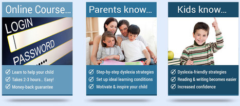 Dyslexia Videos for Parents, Reading, Writing Tips: Dyslexia Improvements   Health   Scoop.it