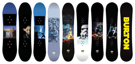Burton Limited Edition Star Wars Snowboards and Helmets | Gadgets I lust for | Scoop.it