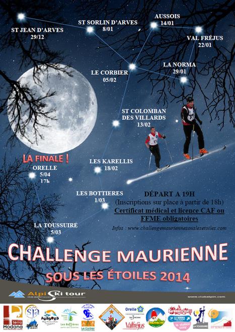 Montée sous les étoiles - Challenge Maurienne 2014   Vanoise ski & randonnée   Scoop.it