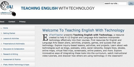 Teaching English with Technology | Education: English | Scoop.it