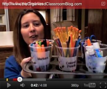 Organized Seasonal Supply Caddies | Seasonal Freebies for Teachers | Scoop.it