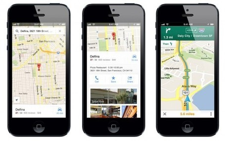 Hallelujah! Google Maps Returns to Apple's iPhone | The Perfect Storm Team Mobile | Scoop.it