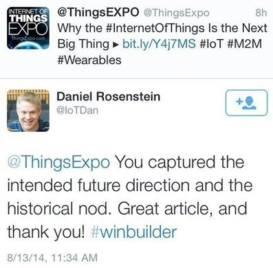 @ThingsExpo   Why the Internet of Things Is the Next Big Thing (#IoT)   Internet of Things Journal   Internet of Things   Scoop.it
