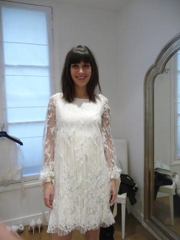 Robe de mariée Delphine Manivet modèle Théodore Esprit bohème ...