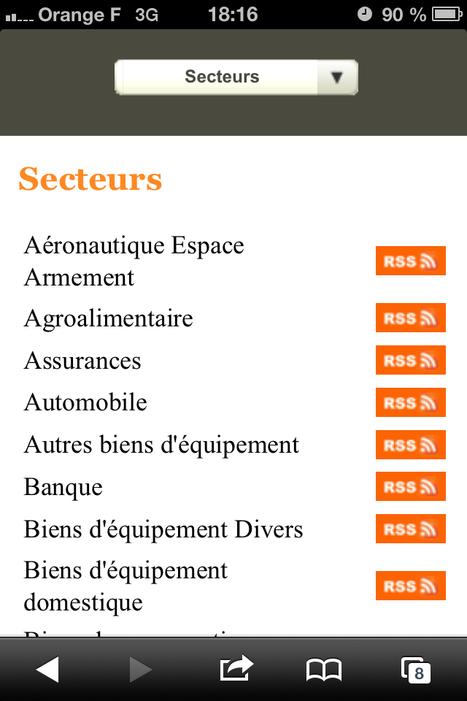 Énorme répertoire de fils RSS sur le site de La Tribune | Outils et  innovations pour mieux trouver, gérer et diffuser l'information | Scoop.it