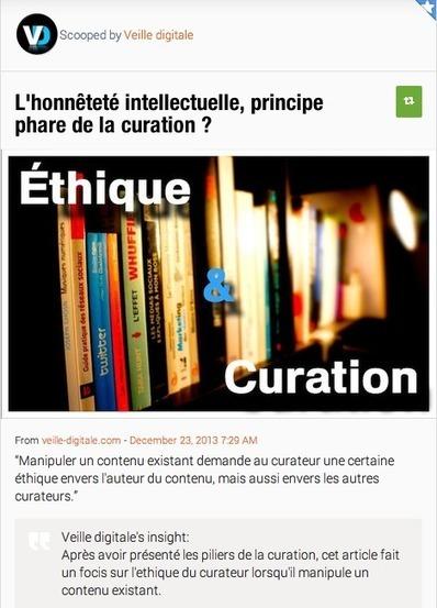 La curation, donnez un angle différent à votre contenu | Social et Conservation | Scoop.it