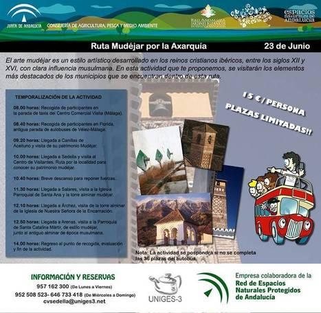 Rúta Mudéjar por la Axarquía y Camino de Antiguos Arrieros - Sedella - 23 y 15 de Junio | Cosas de mi Tierra | Scoop.it