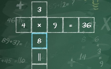 Cross Equate : Improve your math skills with this puzzle game | Tech Cookies | Tech Cookies - Everything about Android | Scoop.it